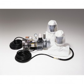 Allegro 9220-02 Supplied Air Respirator System-Two Man Hood