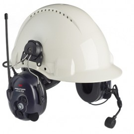 3M Peltor LiteCom Plus Two Way Radio Headset MT7H7P3E4610-NA - Hard Hat Model
