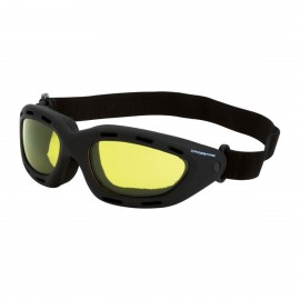 Radians Element Yellow AntiFog Black Safety Glasses 12 PR/Box