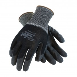 PIP 32-747/XS G-Tek Seamless Knit Nylon Glove with Air Infused PVC Coating on Palm & Fingers XS 12 DZ