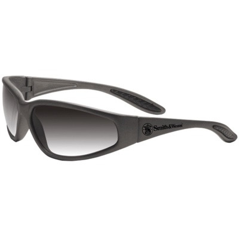 Jackson Safety Smith and Wessons 38 Special Safety Glasses with Gray Frame and Gradient Smoke Lens 12 Pairs