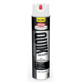 Krylon Quick Mark Tallboy Utility White Solvent Based Inverted Marking Paints | T03900007 12/Case