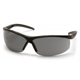Pyramex  Pacifica  Black Frame/Gray Lens  Safety Glasses  12/BX