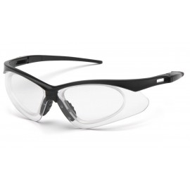 Pyramex Safety - PMXTREME - Black Frame/ Clear anti-fog lens with RX insert Polycarbonate Safety Glasses - 6 / BX
