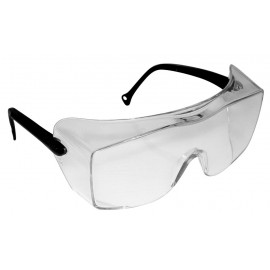 3M™ OX™ Protective Eyewear 12159-00000-20 Clear Lens, Black Temple 20 EA/Case