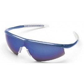MCR Tremor Safety Glasses Blue Mirror Lens 1/DZ