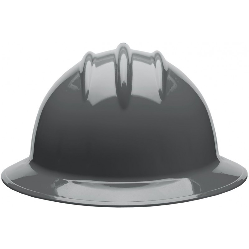 Bullard C34 34DGR 6pt Ratchet Classic Extra Large Full Brim Style Dove Grey Hard Hat 20/Case