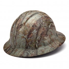 Pyramex Ridgeline HP54119 Full Brim Hard Hat 4-Point Ratchet, Camo (1 EA)