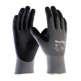PIP MaxiFlex Ultimate Gloves With AD-APT® Technology Gray Color - 12 Pairs / Box