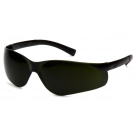 Pyramex Safety - Ztek - Green Tinted Temples/5.0 IR Lens Polycarbonate Safety Glasses - 12 / BX