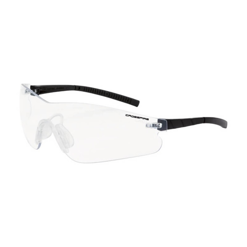 Radians Blade Clear AntiFog Black Safety Glasses 12 PR/Box