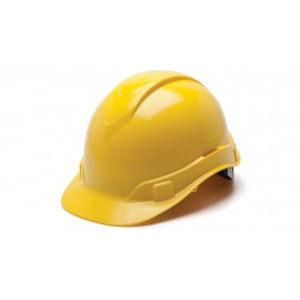 Pyramex HP46130 Ridgeline Hard Hat  Yellow Color - 16 / CS