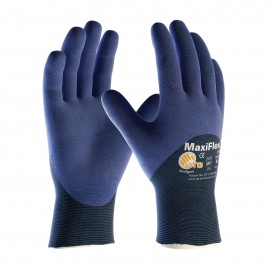 PIP ATG 34-275 MaxiFlex Elite Gloves - Ultra Lightweight - 3/4 Coat Nitrile Micro-Foam - Blue Color (1 DZ)