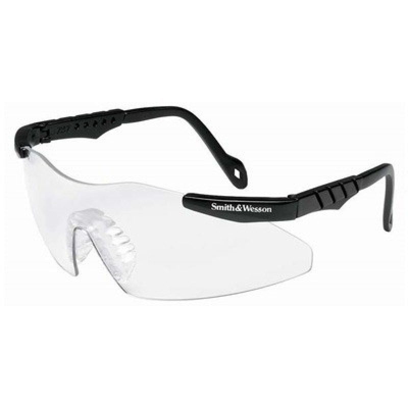 Jackson Safety Smith and Wesson Mini-Magnum Safety Glasses with Clear Lens 12 Pairs