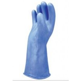 Chicago Protective Apparel LRIG-00-14-SIZE-14 - Blue Rubber Insulated Gloves - 14""