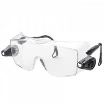 3M™ Light Vision™ Protective Eyewear 11489-00000-10 OTG, Clear Anti-Fog Lens, LED Lights