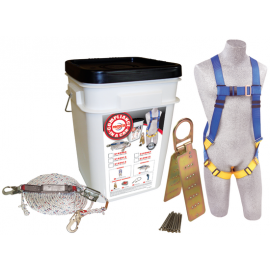 3M™ PROTECTA® Compliance in a Can™ Roofer's Fall Protection Kit 2199811, 25 EA/Case