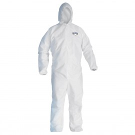 Kimberly Clark 44324 Kleenguard™ A40 Liquid & Particle Protection Coveralls 25/Case XL