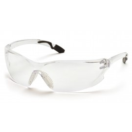 Pyramex  Achieva  Gray Temples/Clear AntiFog Lens  Safety Glasses  12/BX
