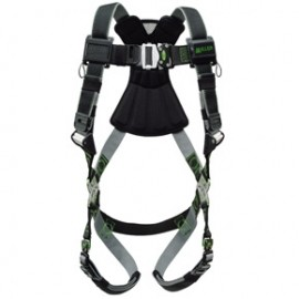 Honeywell RKN-QC/UBK Miller Revolution Harness with Kevlar®-Nomex Webbing Quick-Connect Buckle Legs