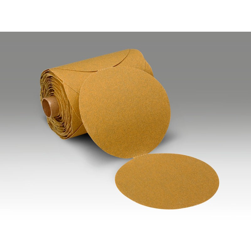 3M™ Stikit™ Paper Disc Roll 363I, 5 in x NH 80 F-weight, 100 discs per roll 4 rolls per case