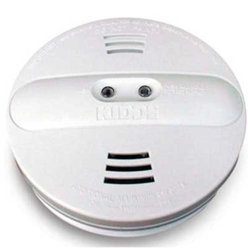 Brooks Battery Operated Photoelectric/Ionization Smoke Alarm