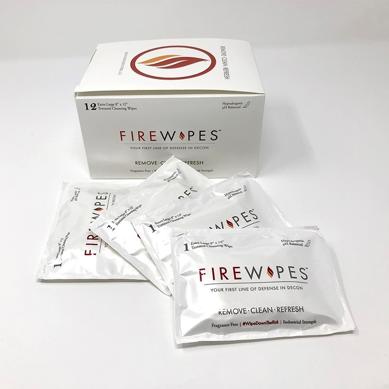 FireWipes industrial Strength Disposable Wipes 12 Per Box