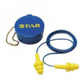 3M E-A-R UltraFit 340-4002 Corded Earplugs in Carrying Case (1 Pair)