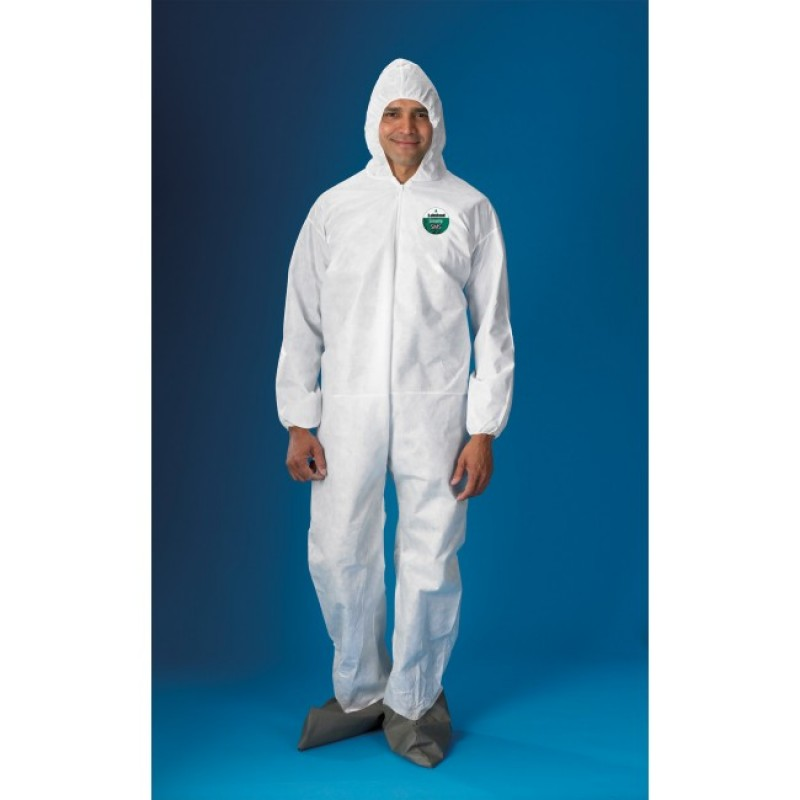 Lakeland SafeGard Coveralls with Attached Hood and Boots (25 per case)