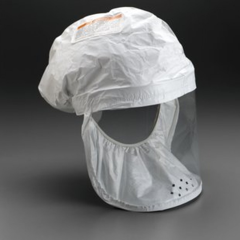 3M™ Head Cover BE-12L-50 (Formerly 522-02-01R50) White, Large 1 EA/Case