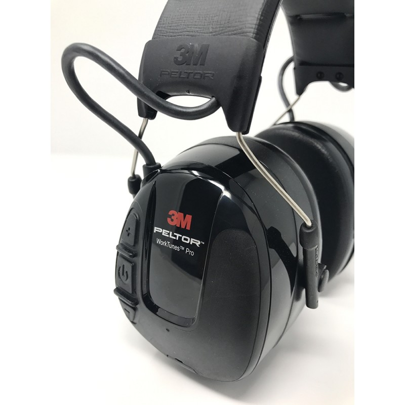 c34d2d4d382 3M PELTOR WorkTunes Pro AM/FM Radio Headset, HRXS221A-NA - Black | Enviro  Safety Products