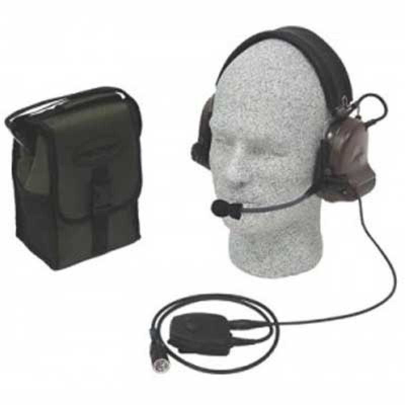 Peltor Single Radio ComTac II Kit