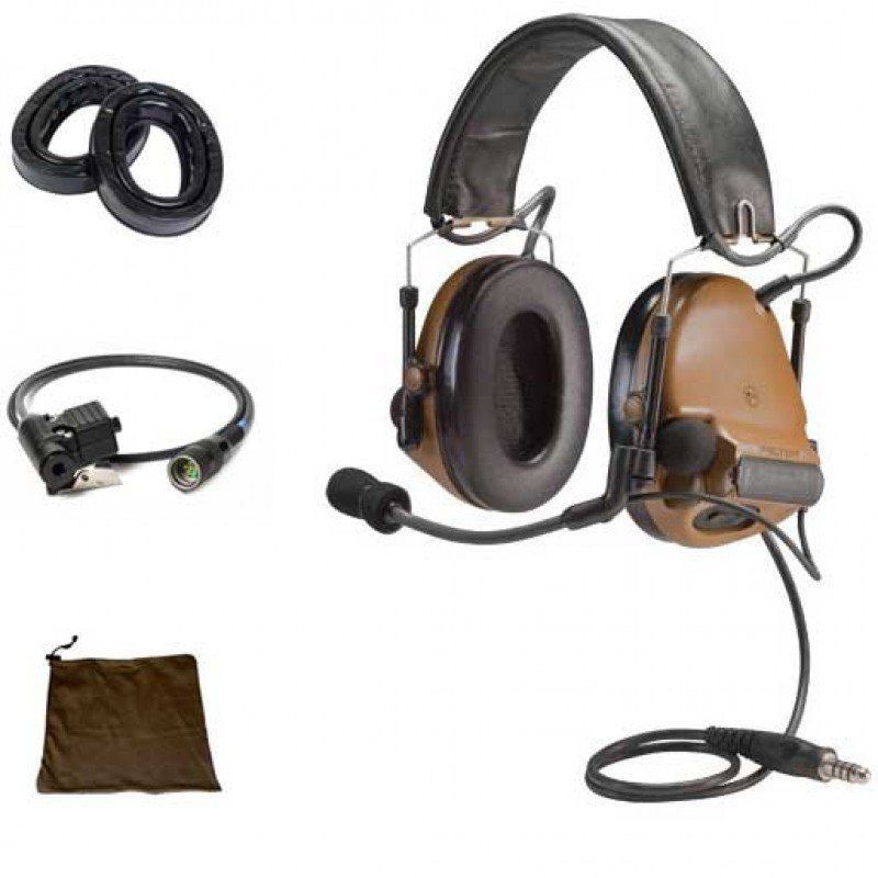 Peltor ComTac ACH Single Comm Kit 88900-00000
