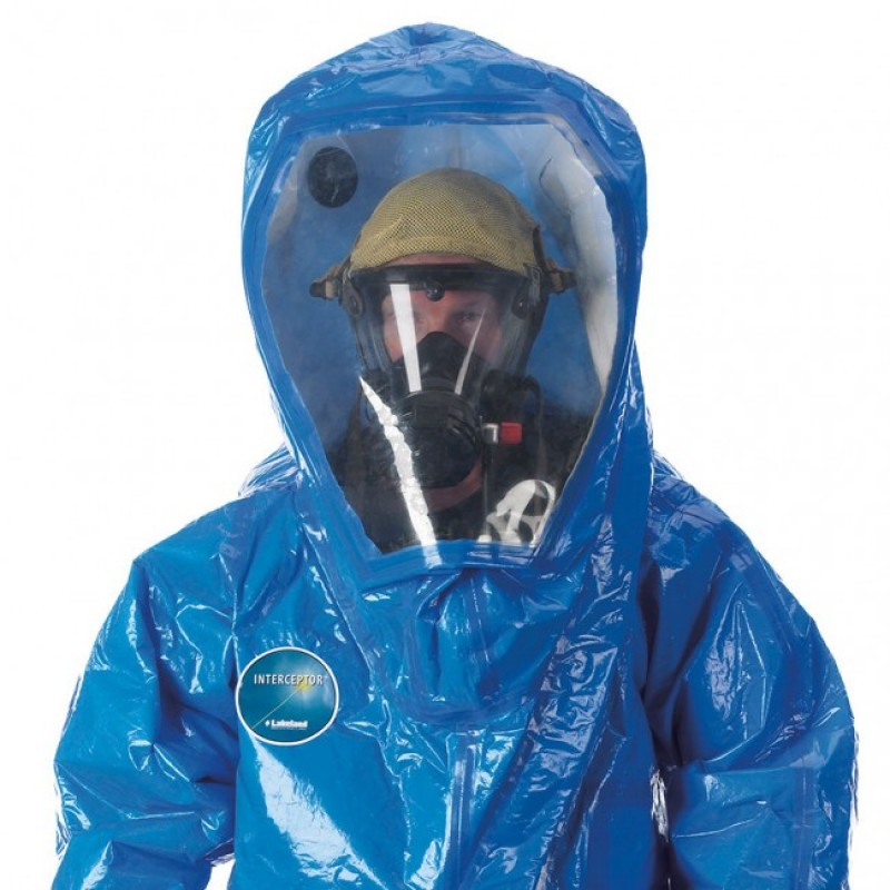 Interceptor Deluxe Encapsulated Suit - Rear Entry - Wide View Face Shield