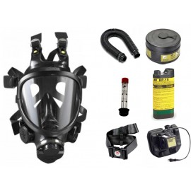 CBRN Facepiece Powered Air Purifying Respirator System - with NiMH Battery