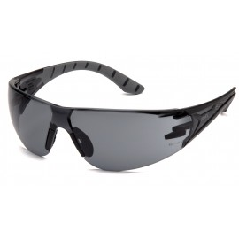 Pyramex Endeavor Plus Safety Glasses Gray H2X Anti-Fog Lens - 12 per Box