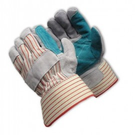 PIP 85-7512J Double Leather Palm Gloves with Safety Cuff (72 Pairs)