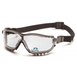 Pyramex  V2G Readers  Black Frame/Clear Anti Fog +1.5 Les Polycarbonate Safety Glasses  6 / BX