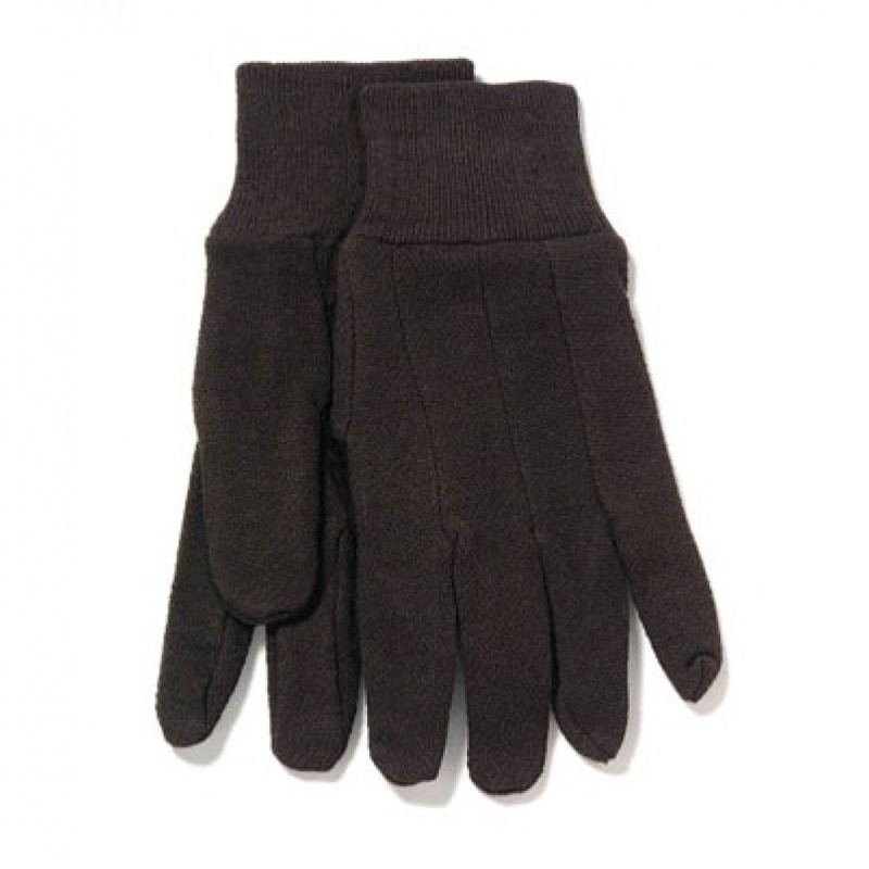 PIP Brown Cotton/Poly Jersey Gloves (25 Dozen)