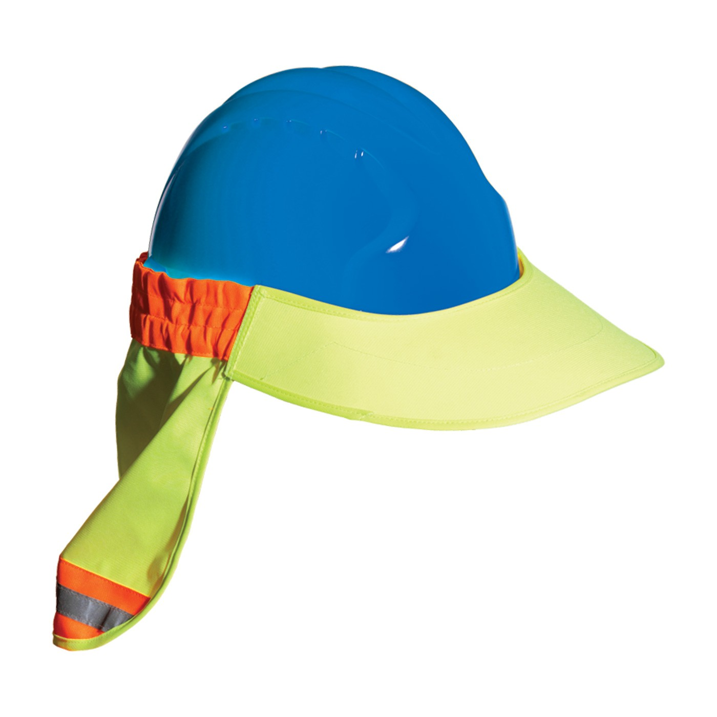 Hi-Viz Hard Hat Visor with Neck Shade by PIP a5f50cd0477