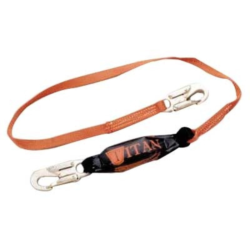 Titan Shock-Absorbing Webbing Safety Lanyard