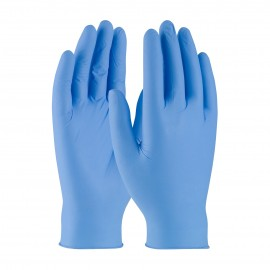 PIP 63-230PF/S Ambi-dex Octane Disposable Nitrile Glove, Powder Free with Textured Grip - 3 mil Small