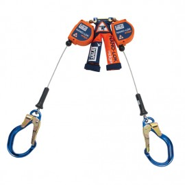 3M™ DBI-SALA® Nano-Lok™ edge Twin-Leg Quick Connect Self Retracting Lifeline, Cable 3500231