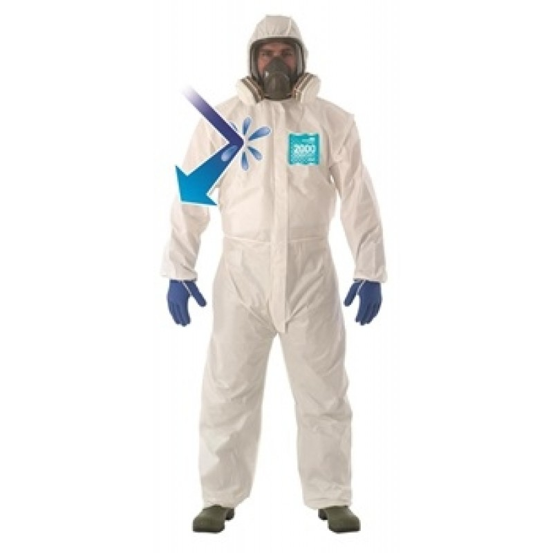 Ansell Microchem® AlphaTec® 2000 COMFORT Model 129 Coveralls 25/Case