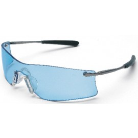 MCR Rubicon Safety Glasses with Light Blue Anti-Fog Lens 1/DZ