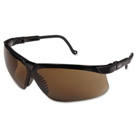 Honeywell Uvex S3201 Genesis Safety Glasses Espresso (1 Pair)