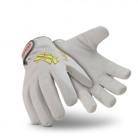HexArmor Chrome Series Arctic Leather 4082 Work Gloves White  1 Pair