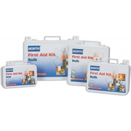 Honeywell 019701-0001L10 Person First AId Kit, Bulk, Steel