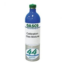 Ecosmart Calibration Gas 35 PPM CO, 10% LEL CH4 (0.5% vol), 10 PPM H2S, 18% O2 - 44 Liter