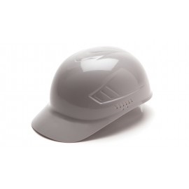 Pyramex Bump Caps Ridgeline Bump Cap Gray (1 Box of 16)